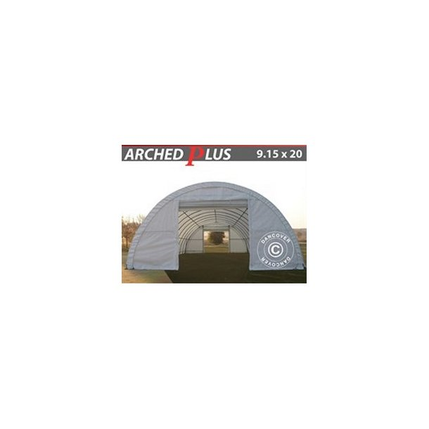 Rundbågehall PLUS 9,15x20x4,50m PVC 600g