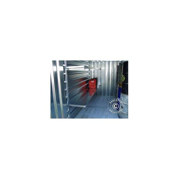 Väggskenor - Ställ för hyllor
