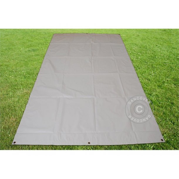 Markduk 3,76 x 7,2m  PVC 500gr/m²  Grå