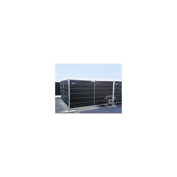Staket presenning 1,8x3,4  150g/m² Svart eller Vit
