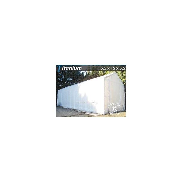OceanCover Titanium 5,5 x 15 x 4 x 5,50m 600g PVC, Vit