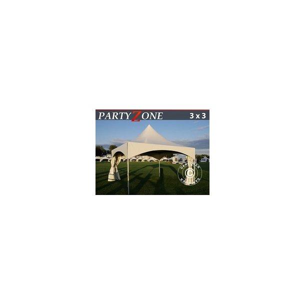 Pagoda 3x3m PartyZone PVC