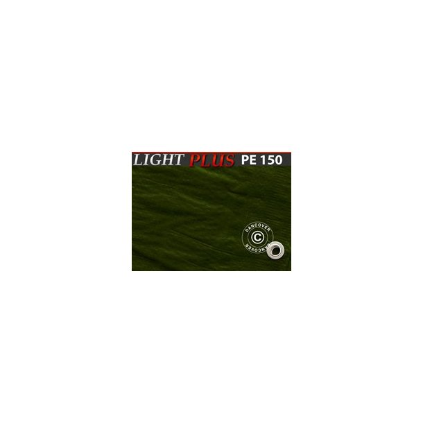 Presenning 3 x 4m  PE 150gr/m²   Grön