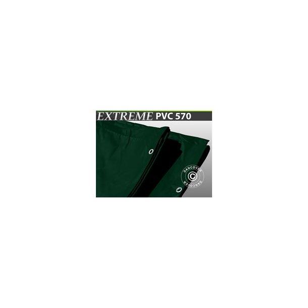 Presenning 6 x 10m  PVC 570gr/m²  Grön