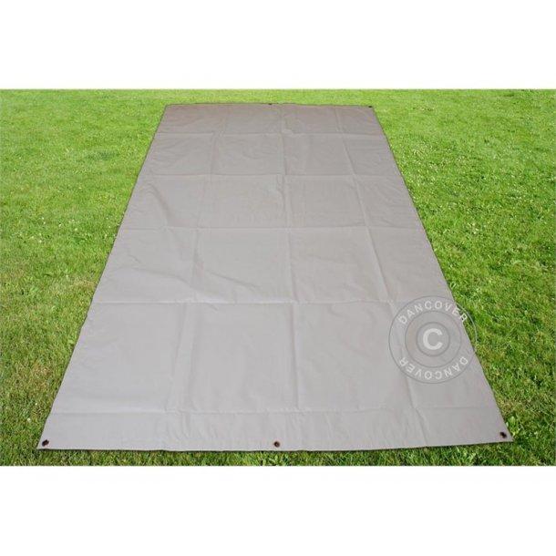 Markduk 3,8 x 6,1m  PVC 500gr/m²  Grå