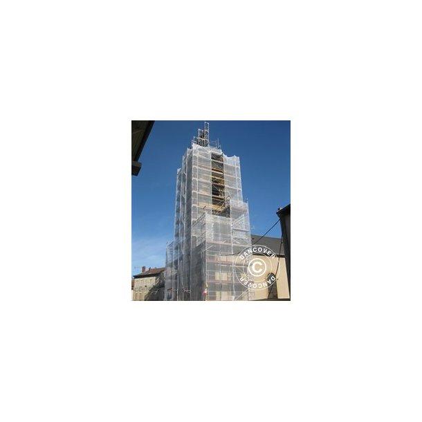 Nät till byggställning 3,07x100 m PP 50 g/m²  Vit