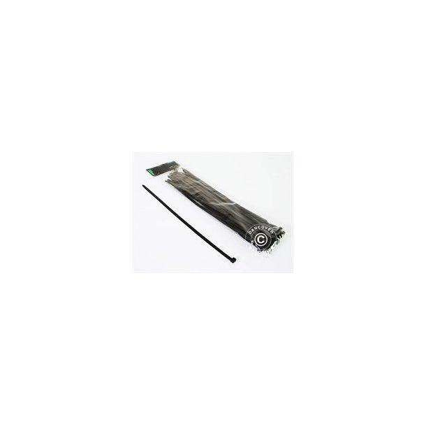 Kabelband 35cm, Svart (50st)