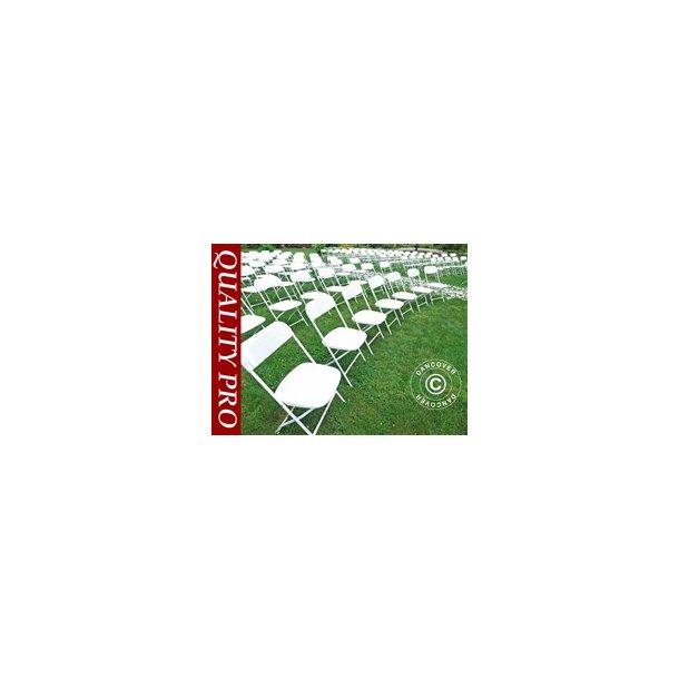 Klappstol, Vit, 44x44x80 cm (24 st)