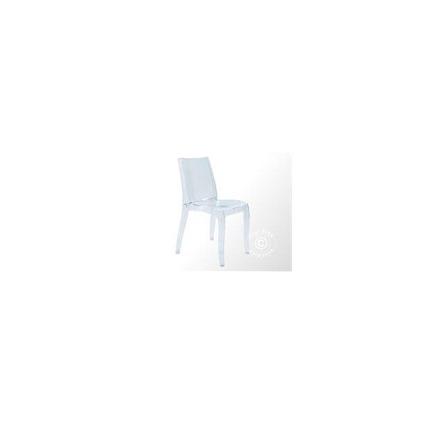 Stol, Cristal Light, 50x54,5x84 cm, Klar, 16 st