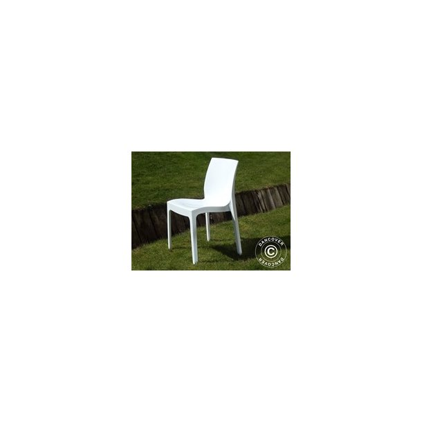 Stol, Ice ,52x54x81 cm, Blank Vit, 18 st