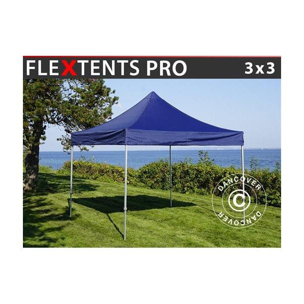 FleXtents PRO 3x3m Mörkblå