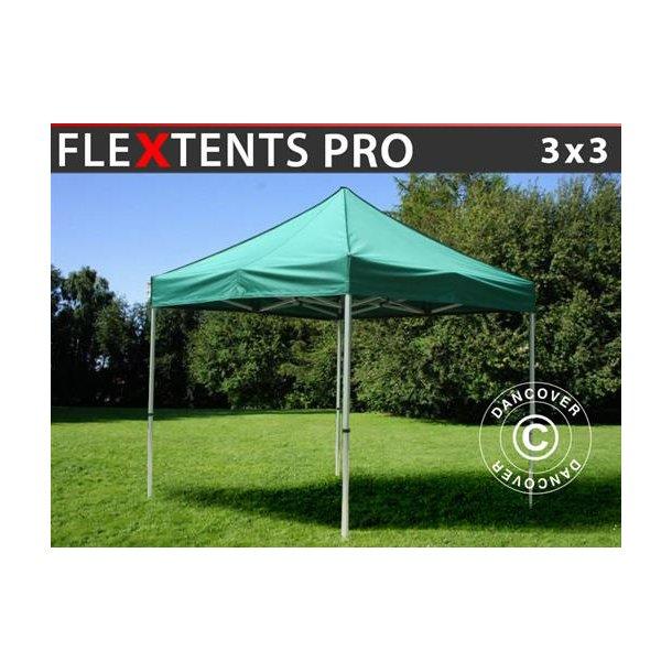 FleXtents PRO 3x3m Grön