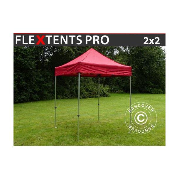 FT04106 FleXtents PRO 2x2m Röd