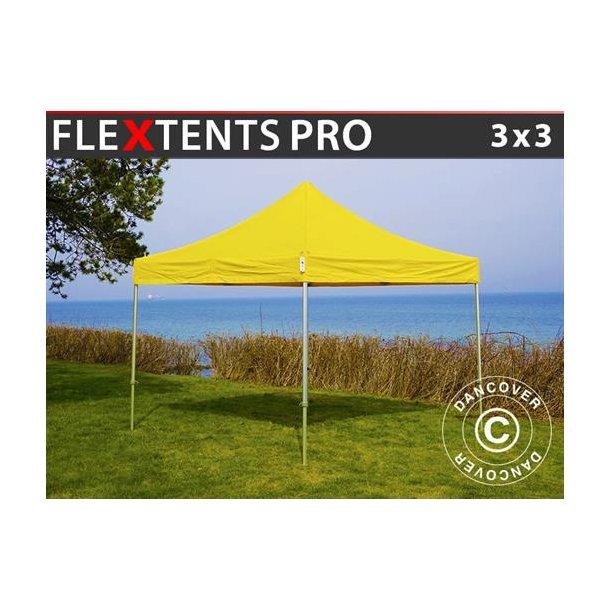 FleXtents PRO 3x3m Gul