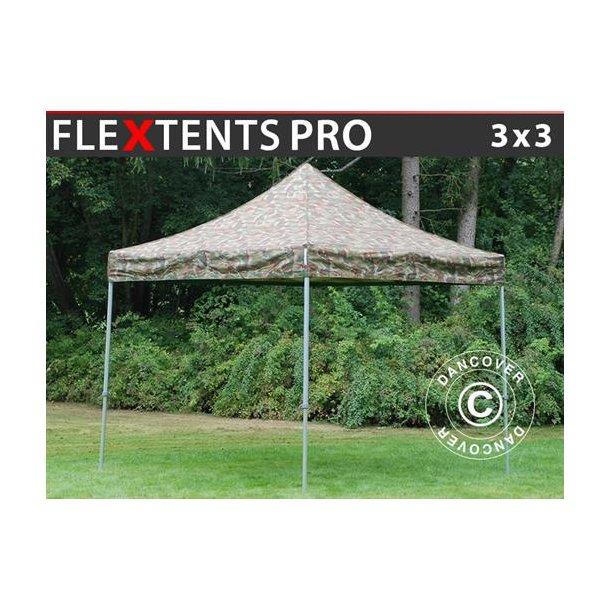 FleXtents PRO 3x3m Kamouflage