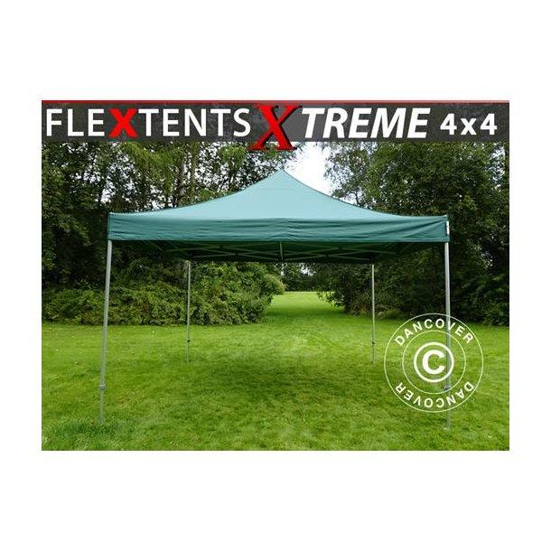Snabbtält FleXtents Xtreme 4x4m Grön