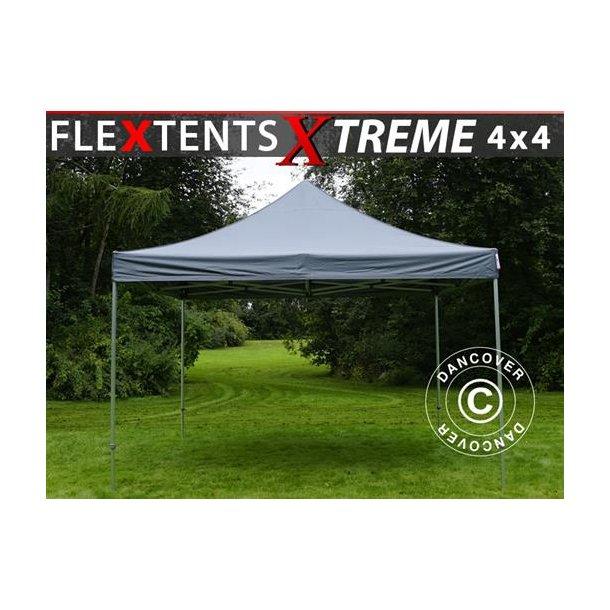 Snabbtält FleXtents Xtreme 4x4m Grå