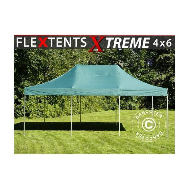 Snabbtält FleXtents Xtreme 4x6m Grön