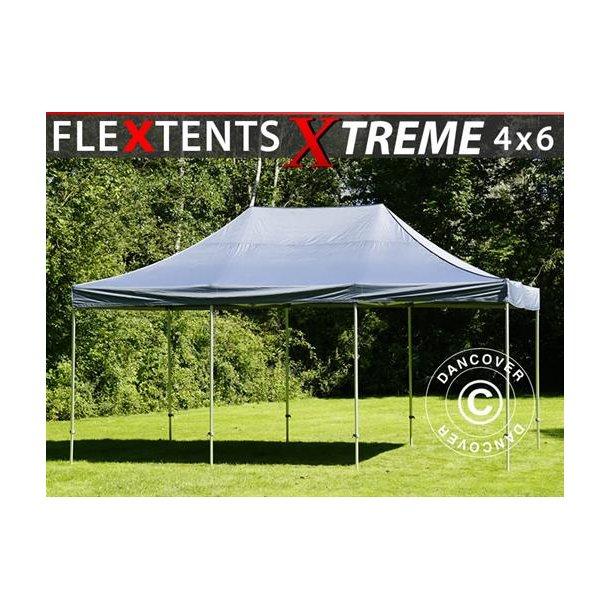 Snabbtält FleXtents Xtreme 4x6m Grå