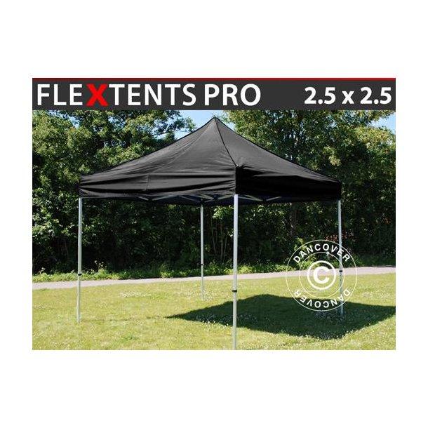 FleXtents PRO 2,5x2,5m Svart