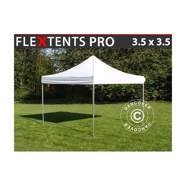 Snabbtält FleXtents PRO 3,5x3,5m Vit