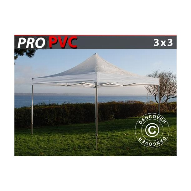 FleXtents PRO 3x3m Transparent