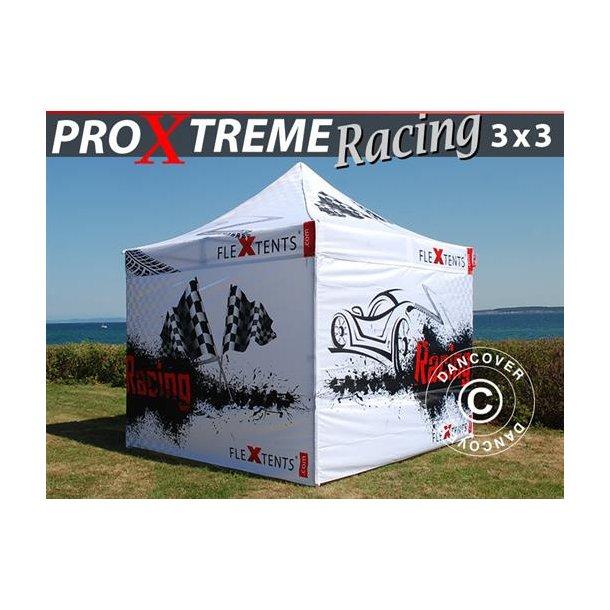 Snabbtält FleXtents PRO Xtreme Racing 3x3m, begränsad utgåva